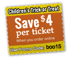 Save $2 per ticket when you order online.  Promotional code Boo13